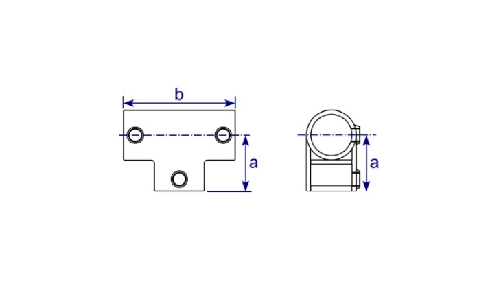 Rohrverbinder T-Stück