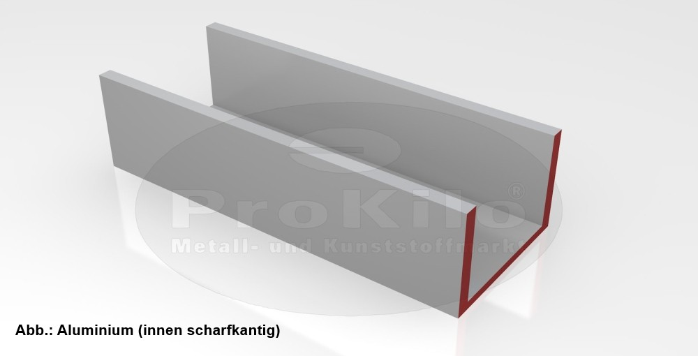U-Profil Aluminium