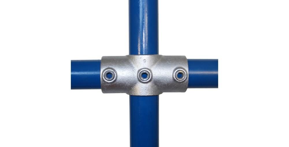 Rohrverbinder Kreuz-Stück