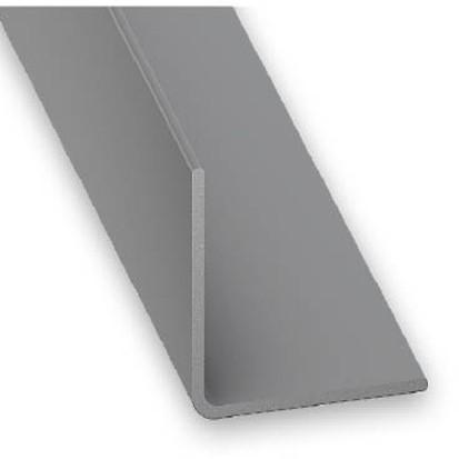 Winkelprofil PVC grau 20x20x1x2600 mm