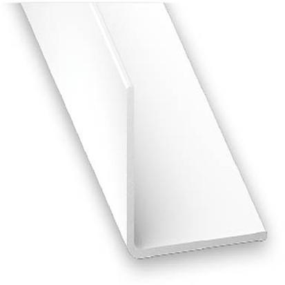 Winkelprofil PVC weiss 25x25x1x2600 mm