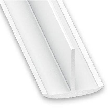 T-Profil weiss 25x18x1x2600 mm