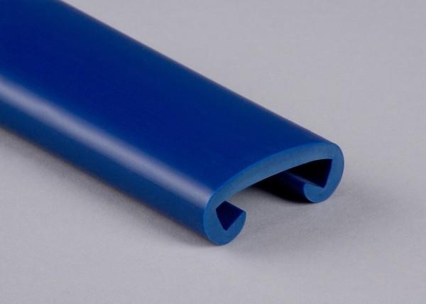 PVC Handlauf ultramarinblau 024 für Flachstahl 40 x 8 mm