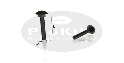 Flachrundschraube DIN 603