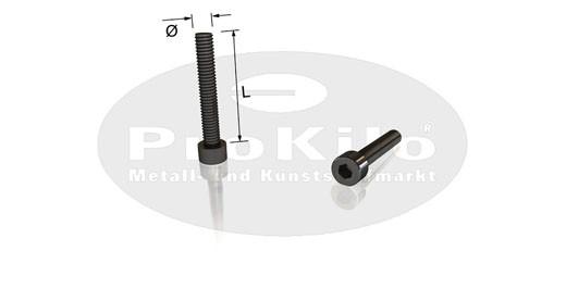 Zylinderschrauben mit Innensechskant DIN 912