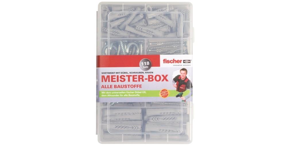 Fischer Meisterbox Universaldübel-Set UX
