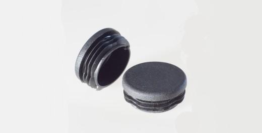 runde Stopfen (schwarz)