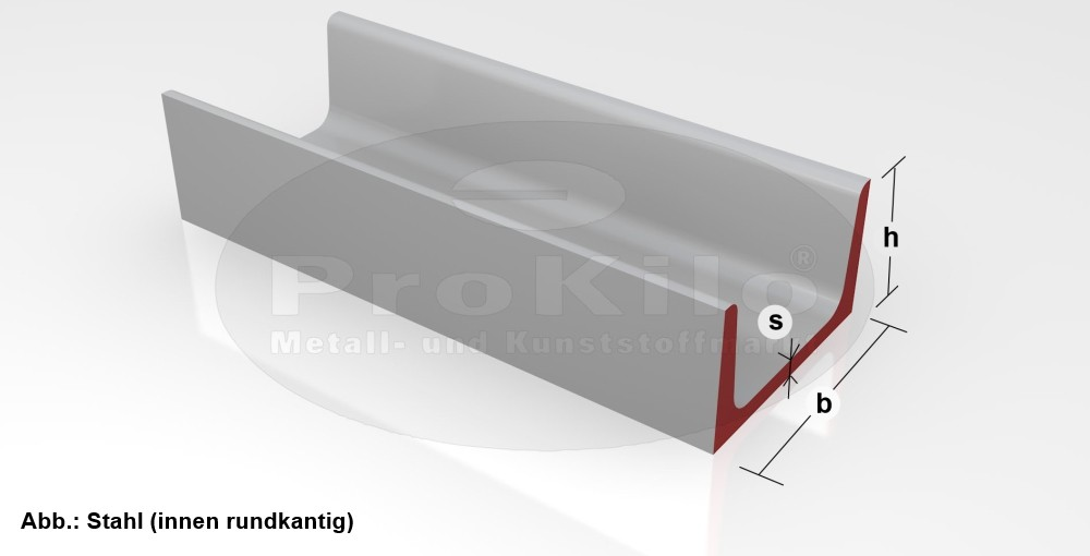 U-Profil Stahl