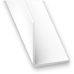 Winkelprofil PVC weiss 50x50x1,4x2600 mm