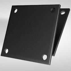 Kopf-/ Fußplatte 10 x 220 x 220 mm