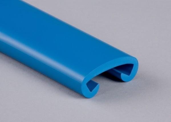 PVC Handlauf lichtblau 013 für Flachstahl 40 x 8 mm
